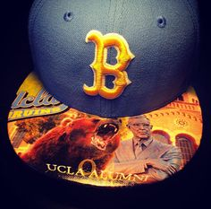 ⭐⭐⭐⭐⭐ review by Kasey S.: My boyfriend loved his hat! Already ordered my next one as a christman present! Awesome work! #urbanscholarapparel #etsy #happy #customer #feedback #collectors #ucla #bruins #brimskins