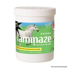 Natural Animal Feeds Five Star Laminaze For all horses and ponies prone to laminitis laminaze has just got better Now with additional gut support to harmlessly flush out toxin build-up.