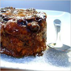 Chocolate-pumpking bread pudding (vegan)