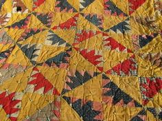 Laurel Leaf Farm, old quilt from a Wisconsin farm estate