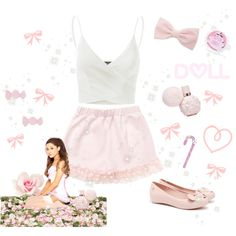 ♡ Sweet Like Candy Summer Look ♡ by kaylalovesowls on Polyvore featuring Doublju, Marc by Marc Jacobs, Forever 21 and Sugar Milk Co