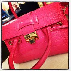 Pink Jimmy Choo bag