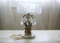 cherub pedestal dish by sadieolive on Etsy, $48.00