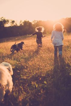 Meredith   Picture by Adam Brennan #family #kids #dogs #field #familyfun #kidsanddogs #sweet #love #fall