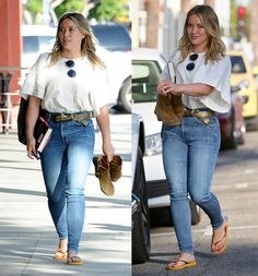 Hilary Duff leaves Sunset City Nails in Studio City, California on October 15, 2016