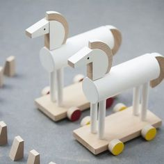 GORGEOUS handmade wooden toys. @kutulu_toys, a combination of modern design and craftsmanship ✨✨✨ Check out today's post and discover these amazing playthings