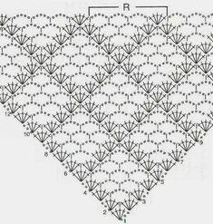 Best 12 crochet font for the cloth rainbow sister (Iris Pollak - SkillOf . - Best 12 crochet font for the cloth rainbow sister (Iris Pollak – SkillOf … – - häkeln häkelschrift Crochet Shawl Diagram, Crochet Chart, Crochet Motif, Crochet Lace, Crochet Stitches, Free Crochet, Crochet Patterns, Crochet Summer, Crochet Ideas