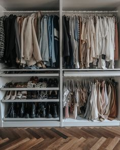 Sharing my new Ikea Pax wardobe and how I designed it plus some little tips on when you're designing yours and a HUGE wardrobe clear out! Ikea Wardrobe Design, Ikea Pax Wardrobe, Wardrobe Room, Wardrobe Organisation, Diy Wardrobe, Bedroom Closet Design, Small Wardrobe, Built In Wardrobe, Closet Designs