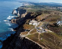 Cabo da Roca - aerial view #Portugal - the Europe´s land´s end