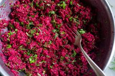 Telepan's Beet and Bulgur Salad Recipe - NYT Cooking