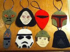Star Wars Felt Christmas Ornaments - Craftster.org