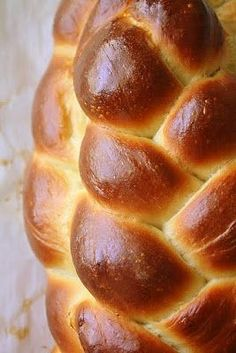 Good, but cakey style with lots of egg yolks and honey. Jane's Sweets & Baking Journal: So This is Challah . . .