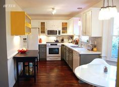 White and grey cabinets