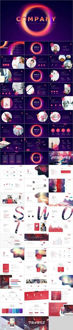 Colorful Company presentation slides--The highest quality PowerPoint Templates and Keynote Templates Create Powerpoint Template, Professional Powerpoint Templates, Powerpoint Themes, Business Powerpoint Templates, Creative Powerpoint, Keynote Template, Infographic Powerpoint, Powerpoint Presentations, Company Presentation