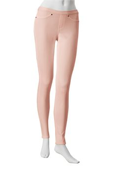 HUE The Original Jeans Leggings Solid (apricot)