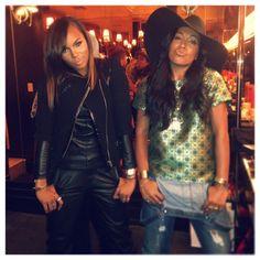 R&B thugs  @Melissa Flood - @LeToya Luckett- #webstagram