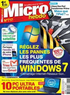 Micro Hebdo - 12 Janvier 2012French | 60 pages | HQ PDF | 44.00 Mb