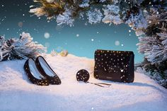 An unique Holiday Season with #Repetto Gifts decorated with stars www.repetto.com