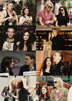 I love Jamily. <3 and they're a couple outside of the movie!