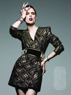 Lux Rocker Looks - Moo King Captures Coco Rocha for Dressed to Kill Winter (GALLERY) Source by fashion dress High Fashion Poses, Fashion Model Poses, Fashion Photography Poses, Beauty Photography, Fashion Models, Lifestyle Photography, Editorial Photography, High Fashion Shoots, Paris Photography