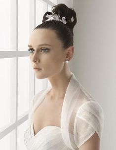 bolero - I love the way the layers make the petal sleeve look so delicate and match the neckline ;)