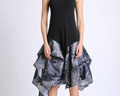 Unique Fashion Pieces von Metamorphoza auf Etsy Unique Fashion, Kaftan, Unique Clothing, Unique Outfits, High Low, Etsy, Tops, Modern, Character