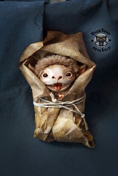 Fantasy | Whimsical | Strange | Mythical | Creative | Creatures | Dolls | Sculptures | by Bake Neko