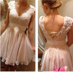 Homecoming Dress ,Short Homecoming Dresses,Chiffon Homecoming Gowns,Sweet 16