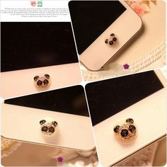 Home Button Apple Panda Hat