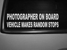 Photographer on Board