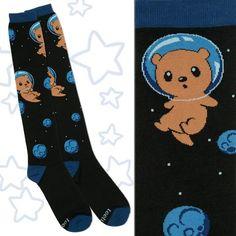 Otter Space Knee High Socks TeeTurtle