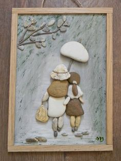 Stone Pictures Pebble Art, Stone Art, Stone Crafts, Rock Crafts, Beach Rock Art, Pebble Art Family, Photo Deco, Rock And Pebbles, Rock Painting Designs