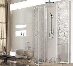 #bathroom #bath #shower #showerroom #interior #design #interiordesign Душевая перегородка Box Docce 2B Vanishing Shower Doors, 325