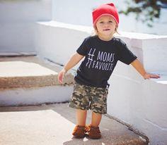 #momsfavorite shirt. ahoyamigo, noxxaz, potato feet, toddler boy fashion, baby fashion, boy style, toddler outfit. hashtag moms favorite. long boys hair, Ciara Garrett Photography