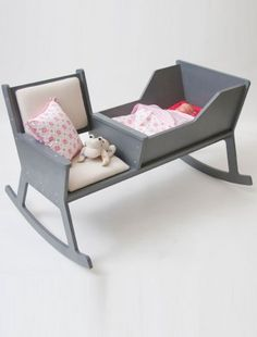 Rockid rocking chair and cradle