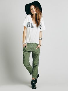 Edith Washed Trouser