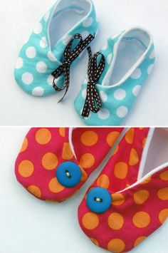 Free Baby Shoes (many patterns)