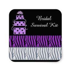 Bridal Survival Kit, practical idea #bridal #gift