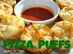 Juggling Act: Pizza Puffs