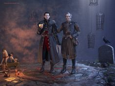 The Witcher: Dettlaff and Regis