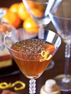 Spiced Manhattan Cocktail