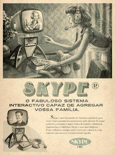 Retro Internet - Skype