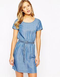 Oasis+Tencil+tie+waist+Dress