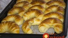 Pamuk kiflice - najmekše kiflice na svetu! Pastry Recipes, Bread Recipes, Cooking Recipes, Serbian Recipes, Good Food, Yummy Food, Ice Cream Candy, Salty Snacks, Bread And Pastries