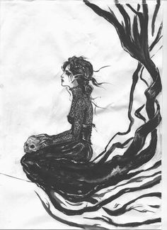 """The Banshee, from the Irish """"bean sí"""" (""""woman of the síde"""" or """"woman of the fairy mounds"""") is a female spirit in Irish folklore, usually seen as a harbinger of death, as well as a messenger from the Otherworld. In Irish legend, a banshee is a fairy woman who begins to wail if someone is about to die."""
