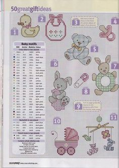 ru / Фото - 1 - zukazyu ~ how cute are these! Small Cross Stitch, Cross Stitch For Kids, Cross Stitch Needles, Cross Stitch Cards, Cross Stitch Baby, Cross Stitch Animals, Cross Stitch Flowers, Cross Stitching, Cross Stitch Embroidery