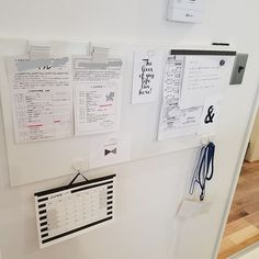 On Walls/カレンダー/IKEA/マグネット/マグネットボード/ダイソー♡...などのインテリア実例 - 2017-06-07 00:20:35 Muji Stationery, Storage Organization, Live Life, Office Decor, Diy And Crafts, Sweet Home, Office Supplies, Bullet Journal, Paper
