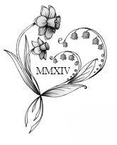 Change the Daffodil to a Hawthorne and most likely change the year but I think that is the tattoo I want :)