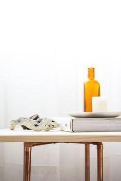 Diy, mesa de cobre - Tu Cajón Vintage #diy #cooper