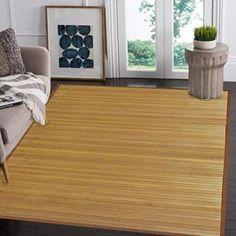 Venice Natural Bamboo X Floor Mat, Bamboo Area Rug Indoor Outdoor Birch Floors, Hardwood Floors, Bamboo Rug, Bamboo Floor, Bamboo Construction, Floor Runners, Cool Rugs, Floor Mats, Jute
